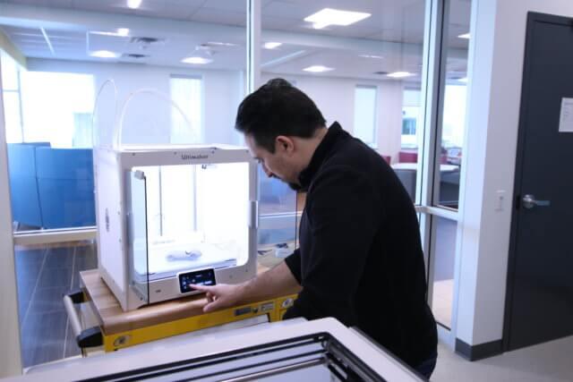 SSM 3D printer - Sault College